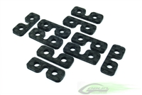 Carbon Fiber SERVO SPACER (10pcs)