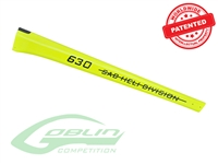 Carbon Fiber Tail Boom Yellow - Goblin 630 Competition