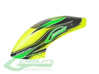 Canomod Airbrush Canopy Yellow/Green - Goblin 630 Competition