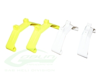 Plastic Landing Gear - Yellow/White