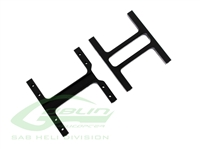Aluminum Frame Support Black Matte