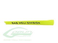 Carbon Fiber Tail Boom Yellow - Goblin 500 Sport