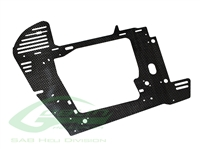 Carbon Fiber Main Frame - Black Nitro