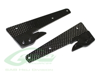 Carbon Fiber Front Landing Gear Support - Goblin Black Thunder
