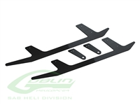 Carbon Fiber Landing Gear - Black Thunder
