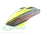Canomod Airbrush Canopy Yellow/Carbon - Goblin Black Thunder 650