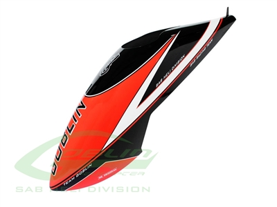 Goblin Comet Canopy - Black/Red