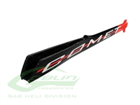 Carbon Fiber Tail Boom Red/Black - Goblin Comet