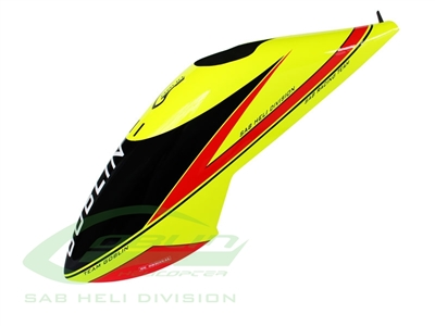 Goblin Comet Canopy - Yellow/Red