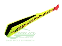 Carbon Fiber Tail Boom Yellow/Red - Goblin Comet