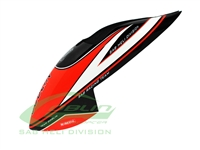 Mini Comet Canopy Black/Red