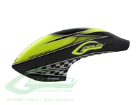 Canomod Airbrush Canopy Yellow/Carbon - Goblin 770 Competition