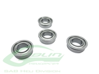 ABEC-5 Flanged Bearing 2,5 x 6 x 2,6