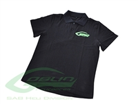 SAB Heli Division Black Polo Shirt