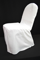 White, Black and Ivory Chair Cover