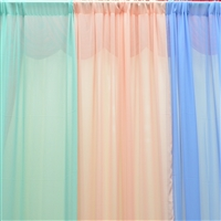 Chiffon Curtain Backdrop Panels