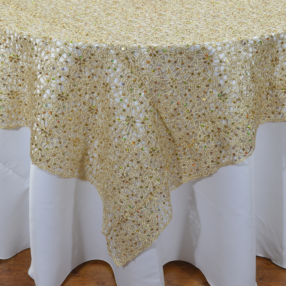 Well known Weddings and Events Chemical Lace Overlay SG86