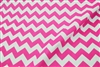 Chevron Printed Poly Cotton Fabric