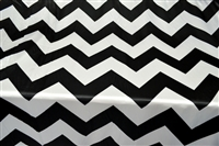 2 Inch Pattern Chevron Satin