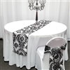 Damask Taffeta Table Runners