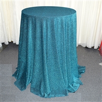Lurex Tinsel 120 Inch Round Tablecloth