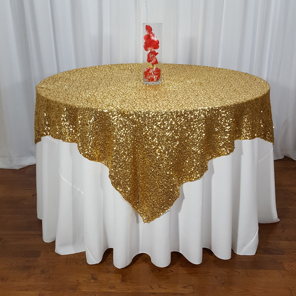 High Quality Mini Glitz Table Overlays