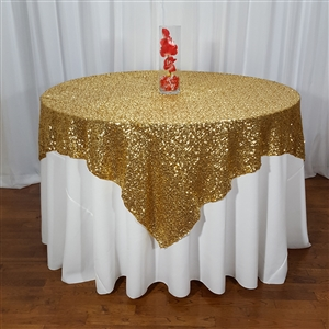 Mini Glitz Sequin Table Overlay