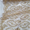 Embroidery Lace, Mango Leaf Design, Guipure