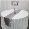 2 Inch Square Pintuck Table Runner