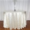Round Crush Satin Tablecloths