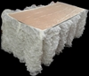 Ruffled Organza Tablecloth