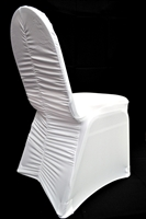 Ruched Banquet Chair Cover