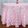 Satin Rosette Tablecloths