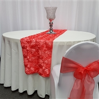 Satin Rosette Table Runners