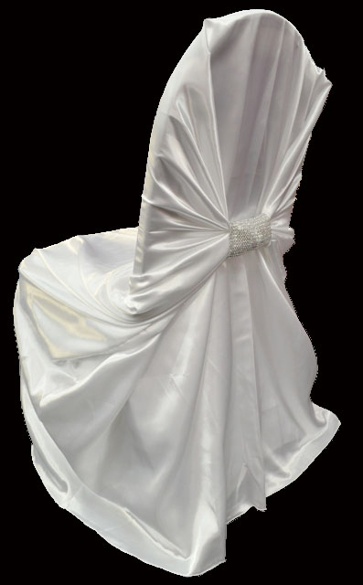 high quality satin charmeuse chair covers