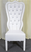 Queen Baroque High Back Chair