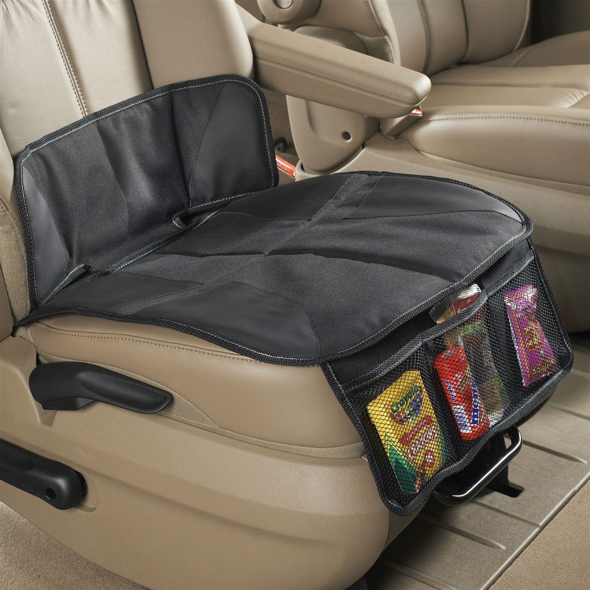 High Road Car Seat Protector Mat For Kids Booster And Seats