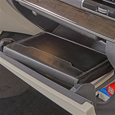 Talus High Road Faux Leather Glove Box Organizer