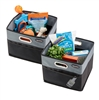 Black High Road CargoCube Car Storage Bins - set/2