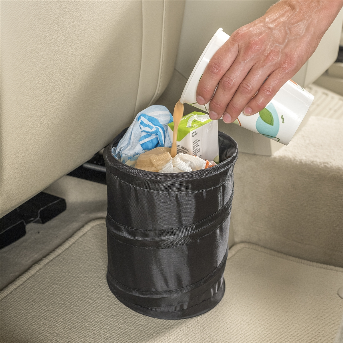 Talus High Road Pop Up Leakproof Car Trash Can