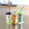 Talus Smooth Trip BPA Free Silicone Straw Set