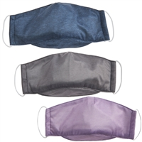 Talus Smooth Trip Washable Face Mask with Filter Pocket - 2 pack