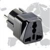 Smooth Trip Grounded Adapter for Europe & Asia