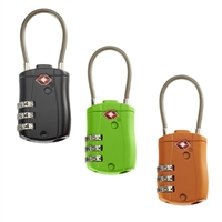 Talus Smooth Trip Combination Cable Luggage Lock