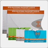 Talus Smooth Trip RFID Passport and Card Set