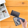 Talus Smooth Trip RFID Black Credit Card Case