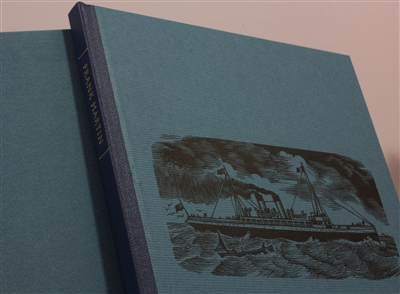 cover of signed limited edition (135 numbered copies)  with twenty-eight wood engravings and wood cuts by Frank Martin printed from the block