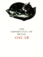 Cover of The Importance of Being Oscar, a book by Yvonne Skargon, with engravings of a now famous cat by this internationally renowned British engraver and one of her best known books