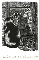 Signed original wood engraving by Miriam Macgregor.