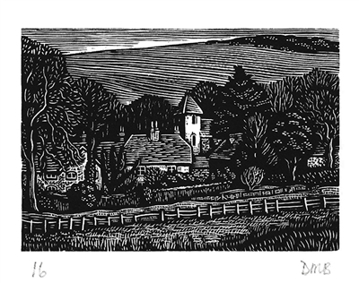 The Engraver's Cut (Diana Bloomfield): Telescombe Church